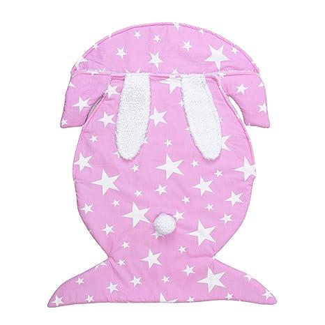 YeahiBaby - Saco de dormir para bebé (terciopelo, forma de ...