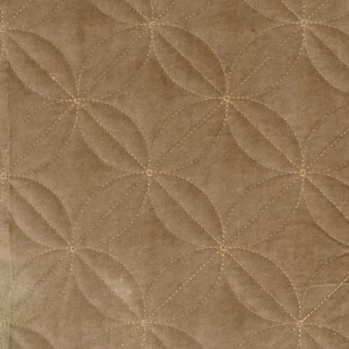 Tussah Taupe Tan Embroidery Solid Diamond Ogee Velvet Grospoint Solids Small Scale Patterns Crewels Embroideries Upholstery Fabric by the yard