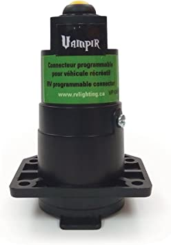 RV Lighting VP-124 7 Way Pre-Programmed Connector for Marker /& Tail Lights