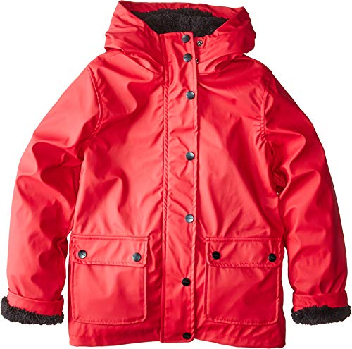 Urban Republic Kids Girl's Khloe Raincoat w/Faux Fur Lining (Little Kids/Big Kids) Red 10/12 from Urban Republic Kids