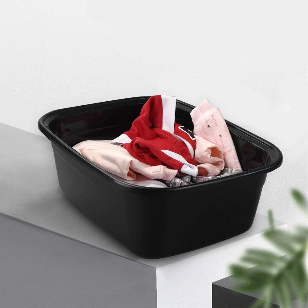 Gitany Plastic Washing up Bowl Basin 3 Colors Rectangular Bowls