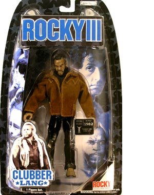 Rocky Jakks Pacific III Series 3 Action Figure Clubber Lang [Street Gear] (Played by Mr. T)