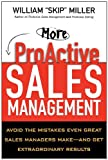 "More ProActive Sales Management, William ""Skip"" Miller, 0814431828"