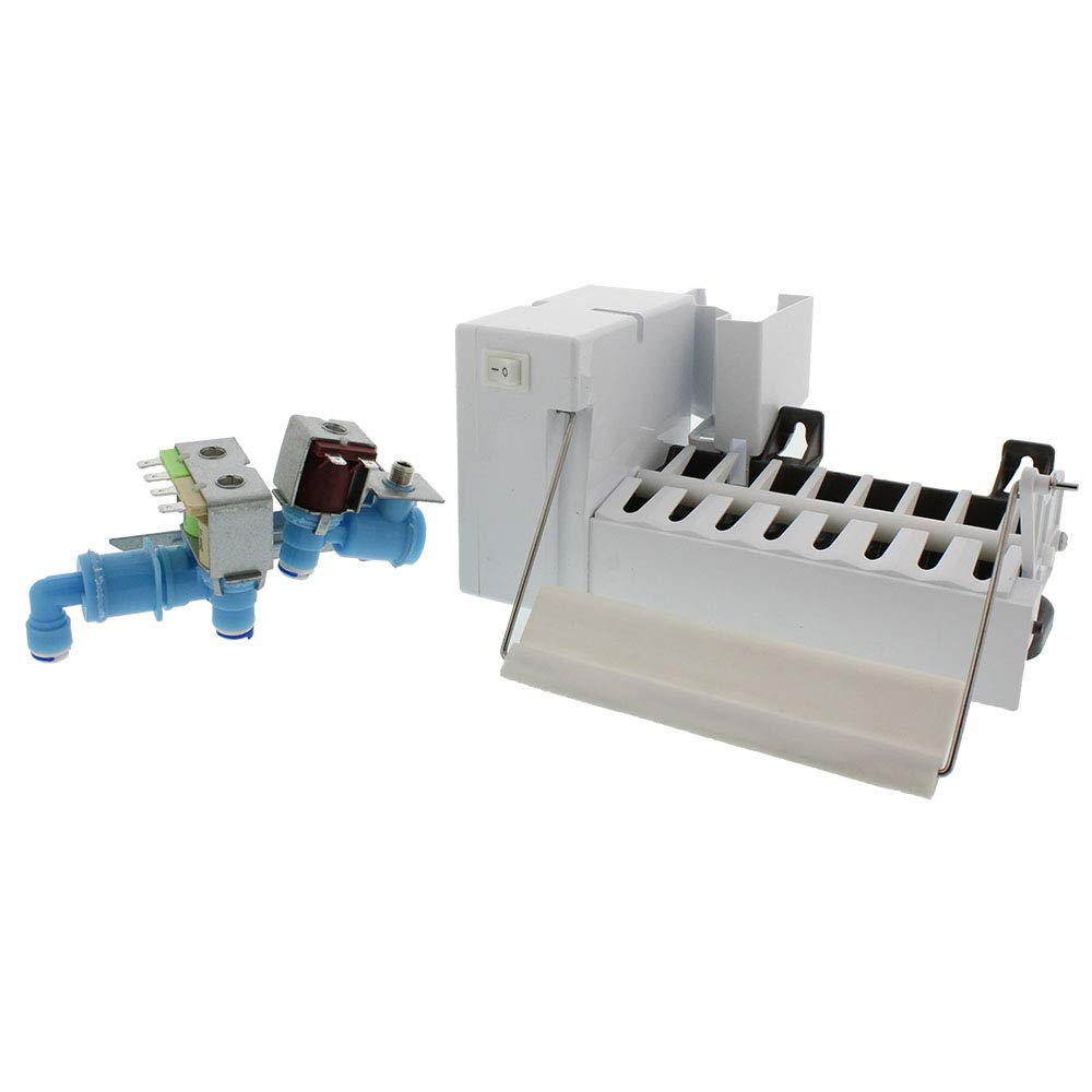 Snap Supply Ice Maker & Water Valve Kit for Frigidaire Replaces 5303918344 & 242252702