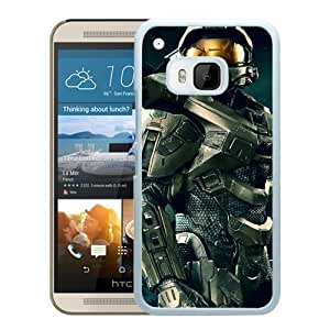 Master Chief Halo White HTC ONE M9 Screen Phone Case High Quality Handmade Cover