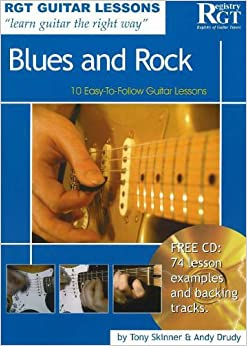 RGT GUITAR LESSONS-BLUESandROCK: 10 Easy-to-Follow Guitar Lessons