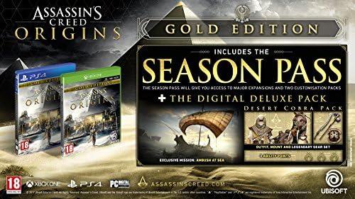 Assassins Creed Origins Gold Edition - Xbox One [Importación ...