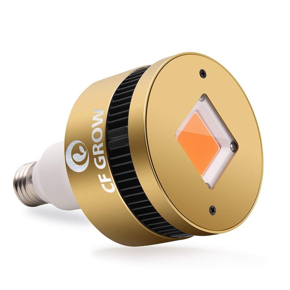 Pflanzenlampen CFGROW Pflanzenlampe 150W LED Vollspektrum COB Grow Light Wachstumslampe mit Pflanzenleuchte Pflanzenlicht kompatibel mit Standard E26/E27 Buchsen