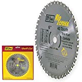 IVY Classic 36177 Ripcross 6-Inch 40 Tooth Thin Kerf Carbide Circular Saw Blade with 20mm, 1/2-Inch Arbor, 1/Card