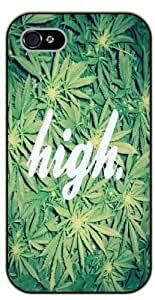 iPhone 5C Weed and dope - High leaves - black plastic case / Verses, Inspirational and Motivational