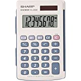 Sharp Electronics EL243SB 8-Digit Twin Powered Calculator Deal