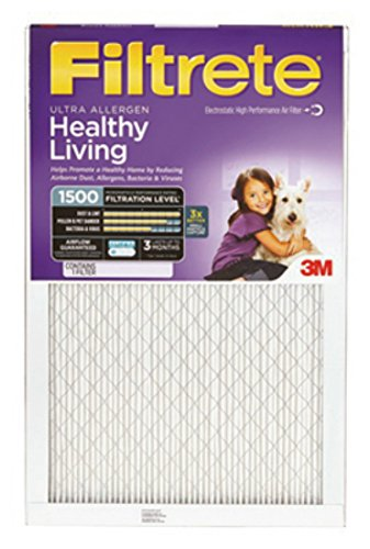 18x24x1, Filtrete Air Filter, MERV 3, by 3m