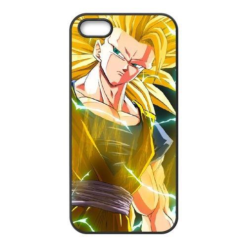Dragon Ball Z 018 coque iPhone 4 4S Housse téléphone Noir de couverture de cas coque EOKXLLNCD20000