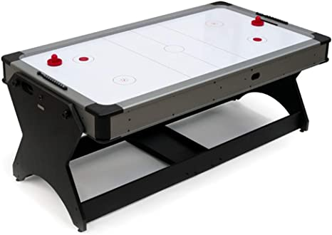 Devessport - Multijuego Giratorio (Billar + Airhockey) - Ideal para ...