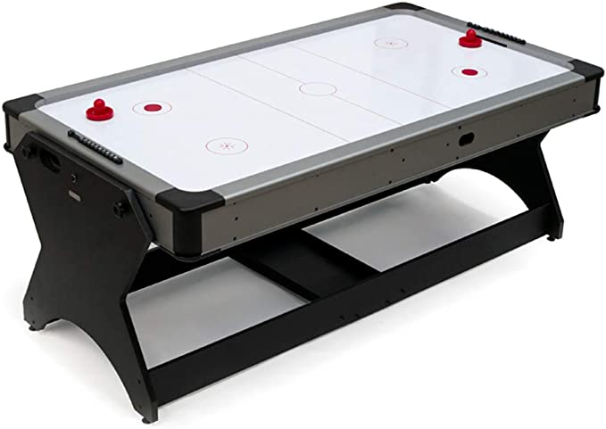 Devessport - Multijuego Giratorio (Billar + Airhockey) - Ideal para jugar con amigos - Medidas: 214 x 112 x 81 Cm: Amazon.es: Deportes y aire libre