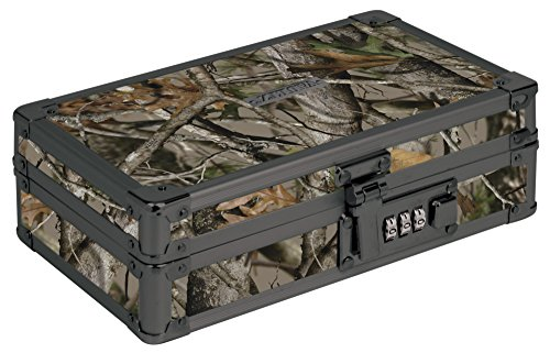 Vaultz Locking Utility Box, 2.75 x 8.25 x 5.5 Inches, Next Camo (VZ00860)