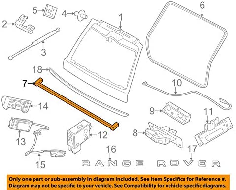 Land Rover Bottom Sealing Rubber Part# BR1877