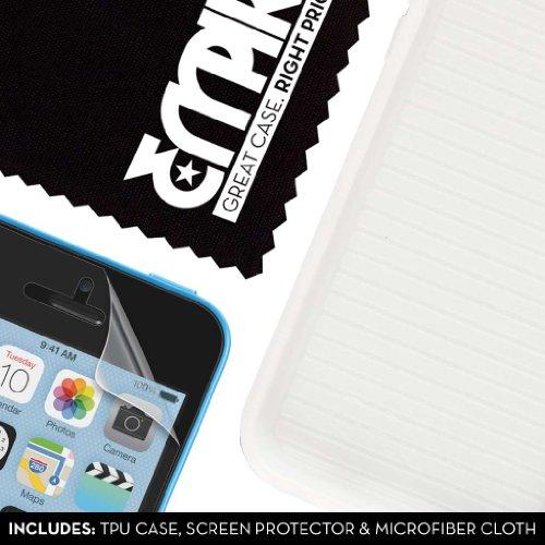 Empire Gruve Coque en TPU pour iPhone 5C avec film de protection d'écran Transparent