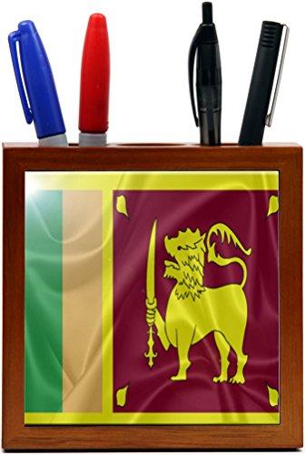 Rikki Knight RK-PH2854 Sri Lanka Flag Design 5-Inch Woode...