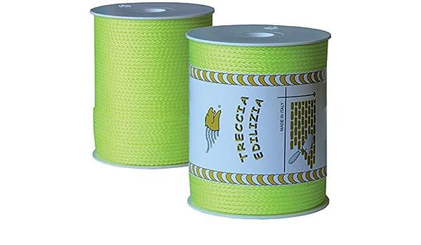 Cuerda de construcción – Hilo de albañilería amarillo flúor ...