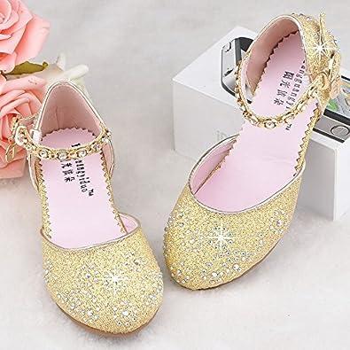 22baa149fe393  ノーブランド品 (BaQi Trade)子供フォーマル靴 フラワーガールズ シューズ女の子