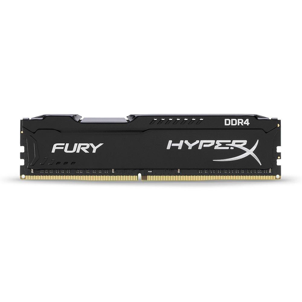 Kingston Technology HyperX FURY Black 8GB 2666MHz DDR4 CL16 DIMM 1Rx8 (HX426C16FB2/8)
