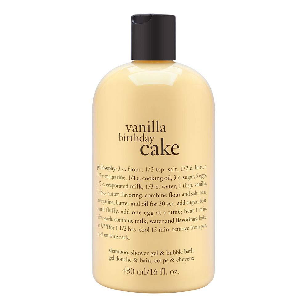 Peachy Buy Philosophy Vanilla Birthday Cake Shampoo Shower Gel Bubble Birthday Cards Printable Giouspongecafe Filternl