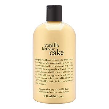 Miraculous Buy Philosophy Vanilla Birthday Cake Shampoo Shower Gel Bubble Funny Birthday Cards Online Ioscodamsfinfo