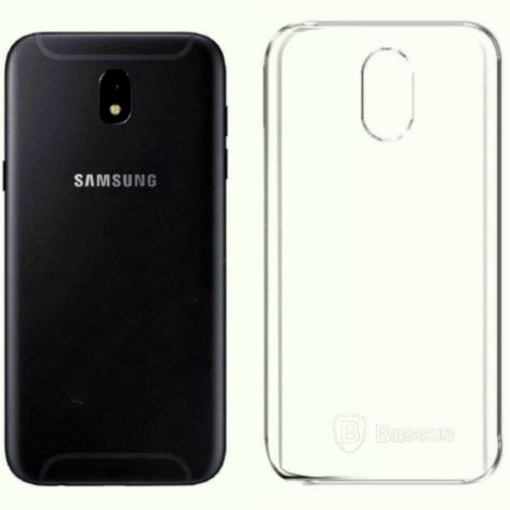 new product 81e7a 43d3b Baseus Samsung J7 Pro Shockproof Transparent Crystal: Amazon.in ...
