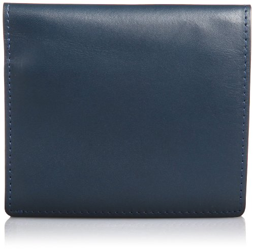 Vintage Revival Productions Air Wallet Leather Bifold Wallet 59204 Navy by Vintage Revival Productions