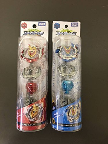 Japan Import New Beyblade burst ultra-Z-layer system georgette Achilles .11.Xt and 2-piece set of winning Valkyrie (Georgette Two Piece)