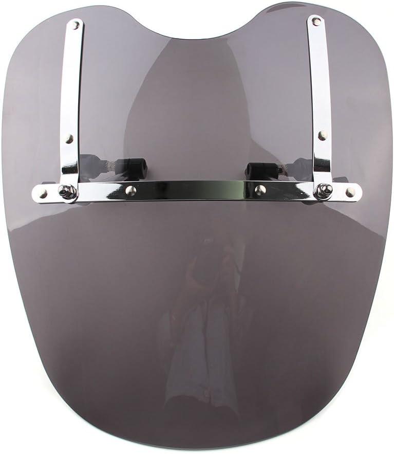 Clear Windshield Windscreen For Harley Davidson Dyna Softail Sportster Road King