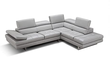 The Aurora Sectional  sc 1 st  Amazon.com : amazon leather sectional - Sectionals, Sofas & Couches