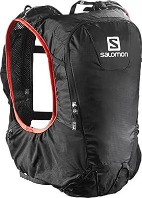 a4e06f36bc Amazon.com : Salomon Skin Pro 10 Set, Black/Bright Red : Sports ...