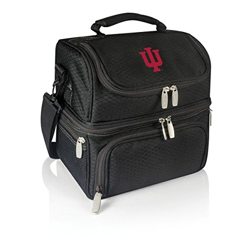 Box Lunch Hoosiers Indiana - NCAA Indiana Hoosiers Pranzo Insulated Lunch Tote, Black