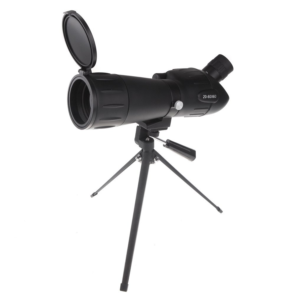 Go Out Camping HD Shooting Birdwatching Binoculars With A Telescope Tripod 20-60X60 Zoom Adjustable Monocular Telescope Spotting Scope