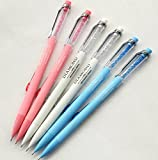 GANSSIA Colorful Fancy Design 0.7mm Mechanical Pencils Pack of 6 Pcs Deal (Small Image)