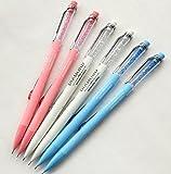GANSSIA Colorful Fancy Design 0.7mm Mechanical Pencils Pack of 6 Pcs Deal