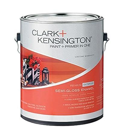 Clark + Kensington Exterior Latex Semi-Gloss Enamel Paint And Primer on clark and kensington bedroom paint, clark and kensington paint swatches, clark and kensington concrete, clark and kensington green,