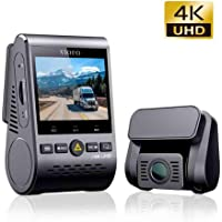 VIOFO 4K Twin Channel Dash Camera with Buffered Parking Mode and GPS Module, Grey (A129PRO/DUO)