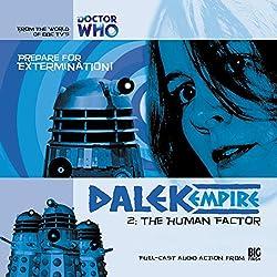 Dalek Empire - 1.2 The Human Factor