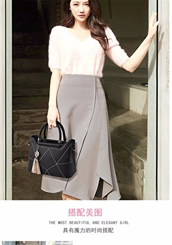 Bag Ladies Clutch Party Hand Black New Black Bag Wedding Evening Bridal 7ZRdRqx