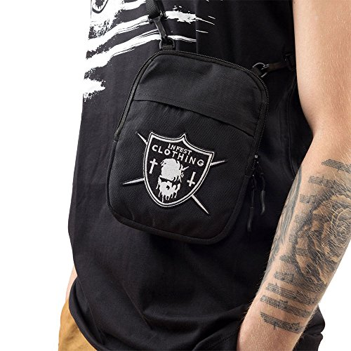 Infest Clothing Umhaengetasche Unholy Dude Bag schwarz (black)