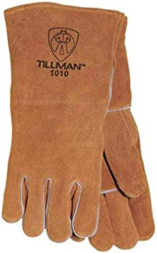 TILLMAN TOP GRAIN//SPLIT COWHIDE WELDING GLOVE #50M