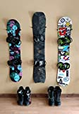 The Cinch | Snowboard Wall Mount Storage | Floating