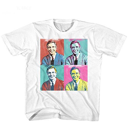 Télévisée Rogers Mister American Fille Visage Jeunesse Grande Pour Classics Enfants Warhol Tee Pbs Série shirt pEXqSqr