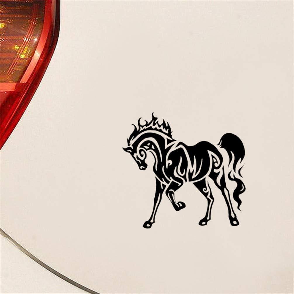 pegatinas para coche Caballo Divertido Coche Etiqueta Engomada Del Coche Van Calcomanía Gráfico Fresco Para El Coche Laptop Window Sticker