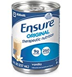 Ensure Plus Strawberry 8 Ounce Bottle, Ready to Use - Case of 24