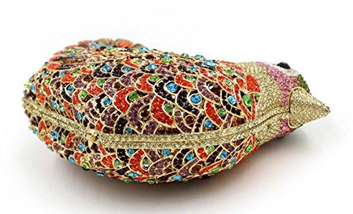 XYXM Mujeres embrague de lujo de diamantes birdie cena bolsa de gama alta de encargo manejar bolsa de diamantes paquete de vestido de la bolsa , color 9 color 3
