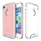 iPhone 6S Case,iPhone 6 Case, Ultra Slim Shock-Absorption Hybrid Soft TPU Side and Clear Hard Acrylic Back Panel Anti-Scratch Case for Apple iphone 6 6S (4.7) (Crystal Clear)